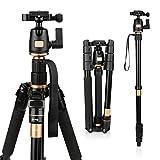 AFAITH Trépied/Monopode caméra professionel Compact pour Appareil Photo Reflex...