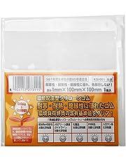 WAKI 環境配慮型シリコーンゴム 厚み1X巾100X100(mm)乳白