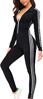 Women's Sweatsuits, Velour Stripe Jogging Zipped Hoodie - Fashion Sport Suit, Hoodie and Pants Sports Tracksuits