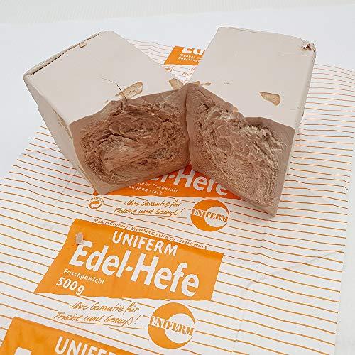 500g Edel Hefe - Backhefe - Großpackung Hefe - Bäckerhefe zum Backen