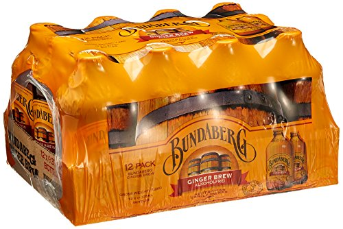 Bundaberg Ginger Brew Akoholfreie Ingwerbier, 12er Pack (12 x 0,33l)