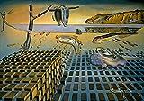Salvador Dali Surrealismo Adivinación abstracta Lienzo Pintura Arte Pintura de pared Carteles e impresiones Sala de estar Sin marco Lienzo decorativo Pintura A107 30x40cm
