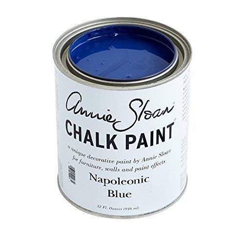 チョークペイントby Annie Sloan Napoleonic Blue Quart - 32oz ブルー 096945000632