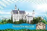 1art1 Schloß Neuschwanstein - Königliches Wappen Und