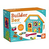 MindWare Building Toys: Builder Box Tool kit House for Young learners