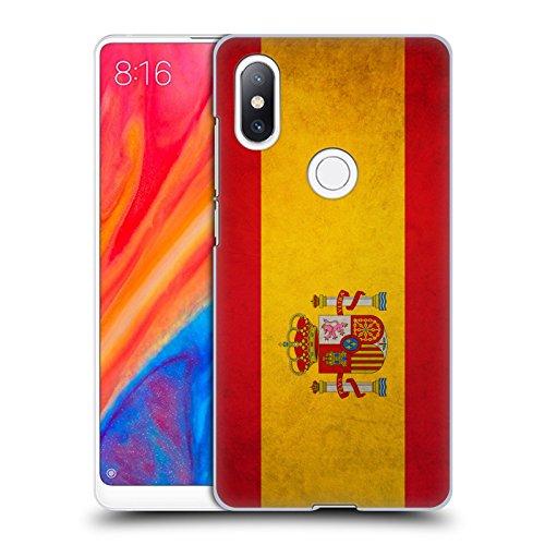 Head Case Designs Español De España Banderas Vintage Carcasa rígida Compatible con Xiaomi Mi Mix 2S