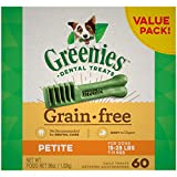 GREENIES Grain Free Petite Natural Dog Dental Care...