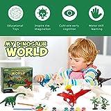 Zoom IMG-1 hiveseen dinosauro giocattolo diy pittura