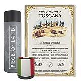 happylandgifts® Premium | auténtica propiedad en la Toscana, como regalo único para los fans de Italia | certificado de propiedad personalizado en color con nombre y dedicación personal