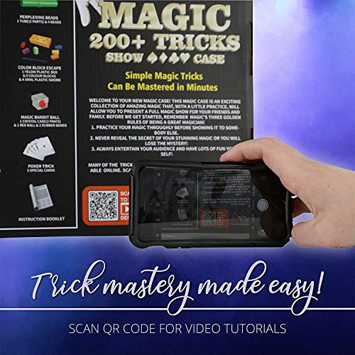 ToyVelt Magic Tricks Magic Set - Kids Magic Kit for Beginners with Over 200 Tricks and Instructions - Hours of Fun and Learning - for Boys and Girls Ages 5, 6,7 and Up Montana