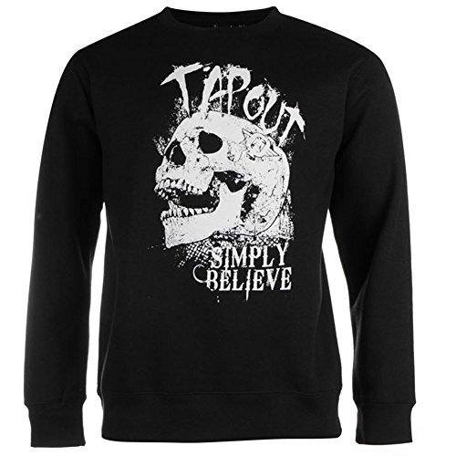 Tapout Herren Crew Sweatshirt (529064) Black, S