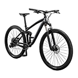 Mongoose Salvo Trail Mountain Bike, 9-Speed, 29-inch Wheel, Mens Large, Black, Model: M22250M10LG-PC