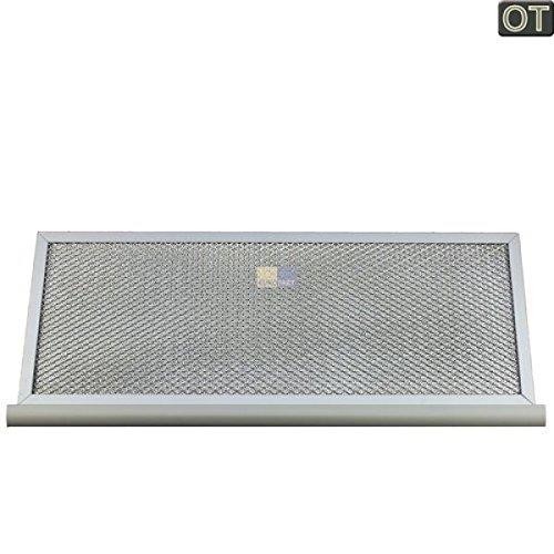 Fettfilter eckig Metall 490x200mm 00291063 291063 Bosch, Siemens, Neff, Gaggenau