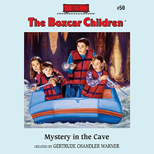 The Mystery in the Cave audiobook cover art