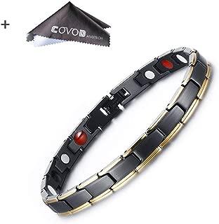 Titanium Magnetic Therapy Health Bracelet - 2018 New Pure Row 4 Elements Magnetic Therapy Bracelets (women)