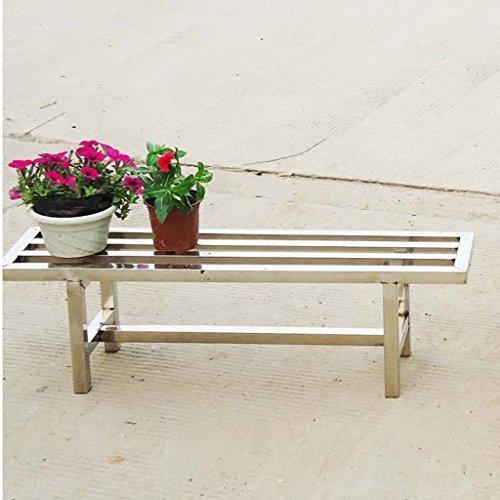 Balcon en acier inoxydable Gables simple bas Stood Simple rectangulaire simple étagère