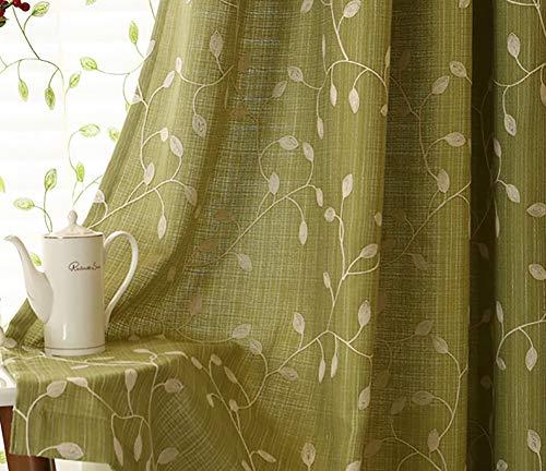 cortinas salon opacas efecto lino