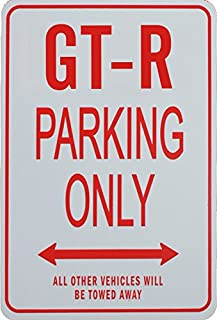 GT-R PARKING ONLY - Miniature Fun Parking Sign
