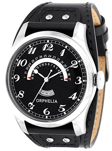 Orphelia Herren-Armbanduhr One & Only Analog Quarz Leder