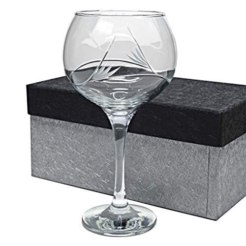 Set de 1 Copa de Cristal para Gin&Tonic - Tallada a Mano - colección COMBY.