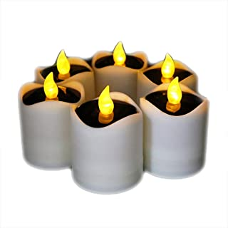 ソーラー電子キャンドル、防水LEDソーラー、6個ソーラーLEDキャンドル、防水キャンドルライト,キャンドルライト,ホームロマンチック装飾、クリスマス