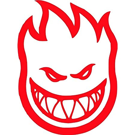"SPITFIRE GREEN YELLOW Logo Skate Sticker 4.5 X 6/"" skateboards helmets decal"