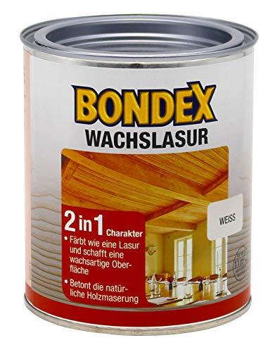 Bondex Wachslasur Weiß 0,75 l - 352675