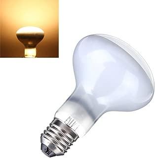 CTKcom 100 Watt UVA Pet Heating Lamp(2 Pack),R85 Day Light UVA Basking Heat Spot Lamp,UVA Reptile Heat Bulb for Turtle Aquarium Aquatic Reptile Lizard Heat Lighting E26/E27,110V,2 Pack