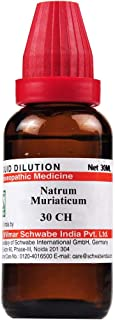 Willmar Schwabe India Homeopathic Natrum Muriaticum Dilution (30ml) (1000CH)