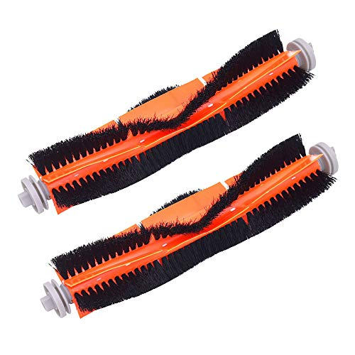 Neutop Main Roller Brush Replacement for Roborock S6 S6 Pure S5 S5 Max S4 E4 E20 E25 E35 C10 S50 Xiaomi Mi Mijia Robot Vacuums,2-Pack.