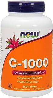 NOW Foods C-1000 Rh Sr 250 Tablets, 1.0 Count