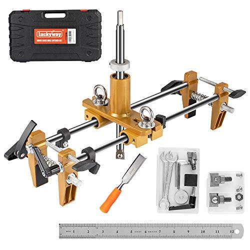 Luckyway Door Lock Hole Opener Kit, Lock Mortiser for Wooden...