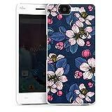 DeinDesign Hard Hülle kompatibel mit Wiko Highway Schutzhülle weiß Smartphone Backcover Blumen Sommer Malerei