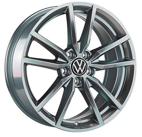 Volkswagen Original VW R-line Leichtmetall-Felge 'Pretoria' 7,5J x 18 ET51 Galvanograu metallic