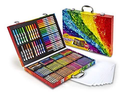 Crayola Inspiration art case - Kit de manualidades para niños (Lápiz de color, Lápiz, Rotulador), 140 piezas , Modelos colores Surtidos, 1 Unidad