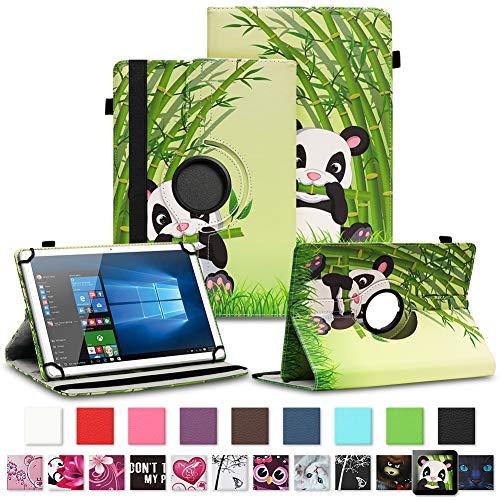 NAUC Tablet Schutzhülle für Sony Xperia Z4 aus Kunstleder Hülle Tasche Standfunktion 360° Drehbar Motiven Cover Universal Case, Farben:Motiv 12
