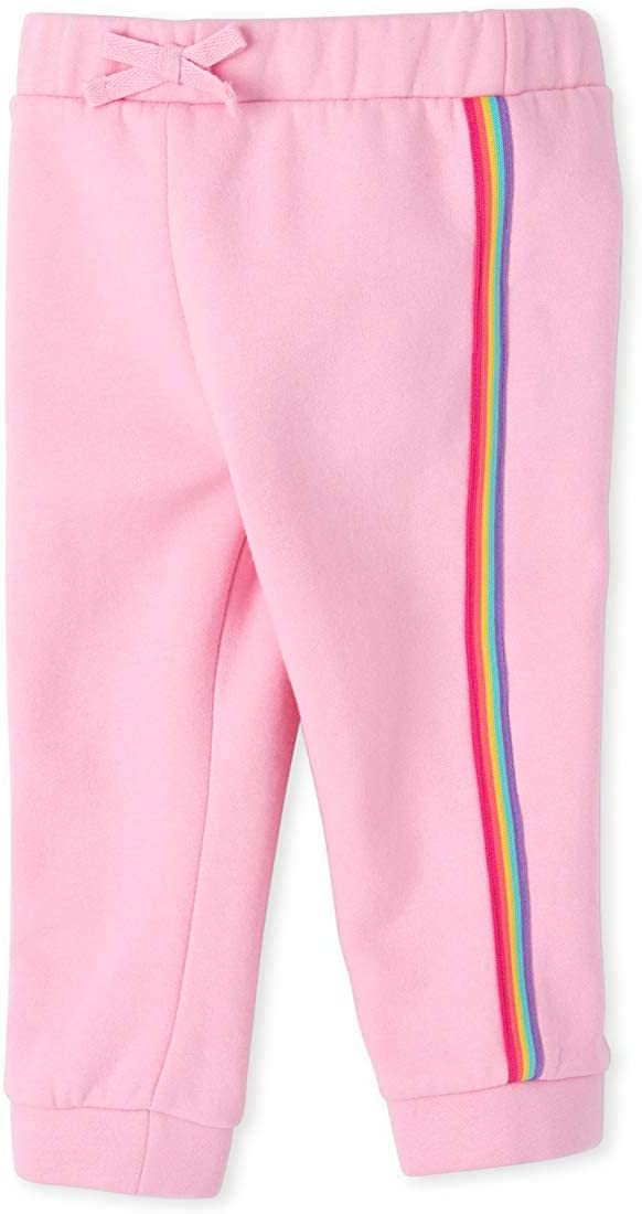 The Children's Place Baby Girls Graphic Drawstring Joggers