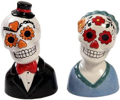 Mexican Traditional Wedding Couple Sugar The Skulls of Day 5% OFF Bombing new work Dead