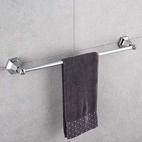 DNSJB - Toallero de cobre retro para baño, estante (color: plata)