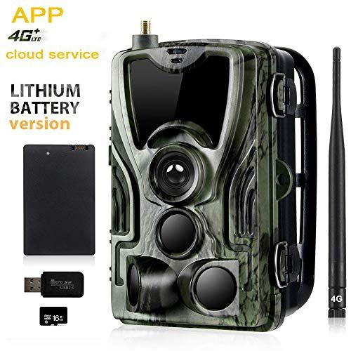 Cámara de caza 4G con batería recargable de de litio