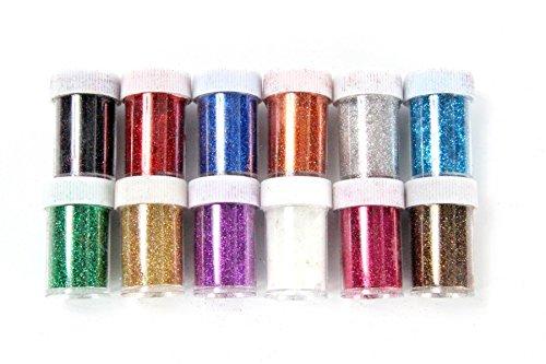 Produktbild ZADAWERK® Glitzer - Extra Fein - 12 Farben