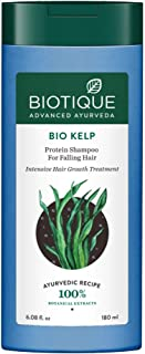 Biotique Bio Kelp Protein Shampoo for Falling Hair Intensive Hair Regrowth Treatment, 180ml