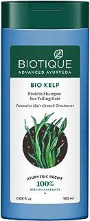 Biotique Bio Kelp Protein Shampoo for Falling Hair Intensive Hair Regrowth Treatment, 180 ml