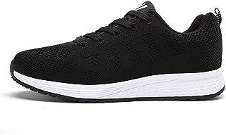 ZLYZS Zapatos para Correr para Mujer, Zapatos para Correr De Malla Transpirable Zapatillas De Deporte Cruzadas Cómodas Zap...