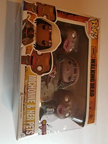 Michonne comes with firma Katana Includes fan-favorite character Michonne with her Two zombi Escorts Based on the hit AMC TV Series