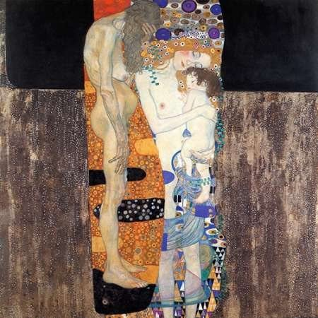 Three Ages Of Woman 1905 Poster Print by Gustav Klimt 12 x 12 product image