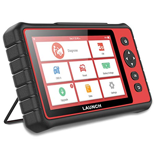 LAUNCH CReader 909 Automotive OBD II OBD2 Scanner 7'' Touch Screen Android Tablet Car Computer Code Reader Auto Engine ABS Airbag Body Brake TPMS Scan Tool Key Fob Programmer with 15 Special Functions