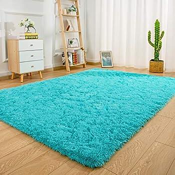 Ucomn Super Soft Indoor Modern Shag Area Rug