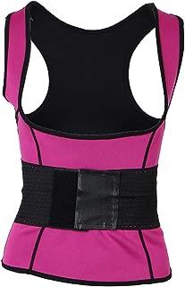 F Fityle Womens Underbust Corset Sweat Tank Top Vest Waist Cincher Belt