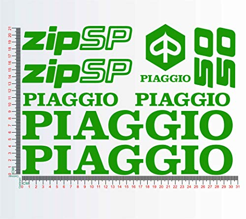 Stickers voor Piaggio ZIP SP50 Motorfiets Decal nr. 1306 064 VERDE LIME